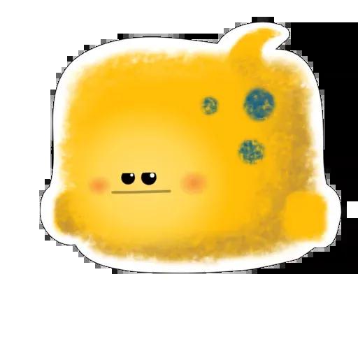 yellow like Cube - Sticker 12