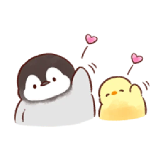 soft and cute penguin 02 - Sticker 10