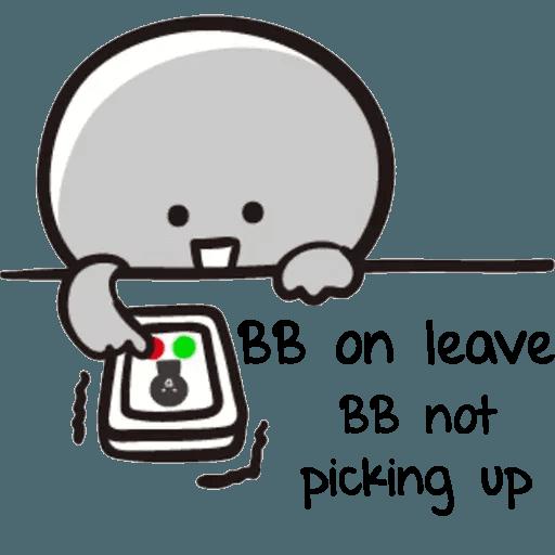 Bb never tell 2 - Sticker 27