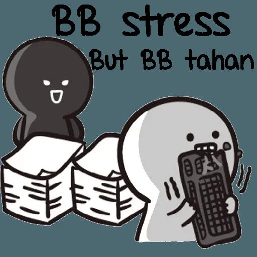 Bb never tell 2 - Sticker 18