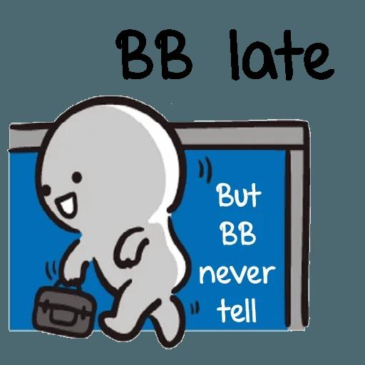 Bb never tell 2 - Sticker 8
