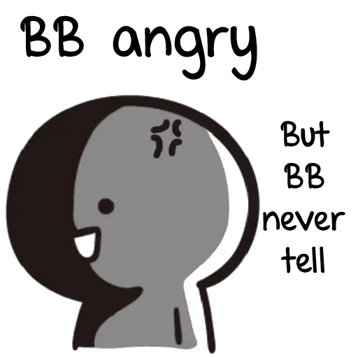 Bb never tell 2 - Sticker 29