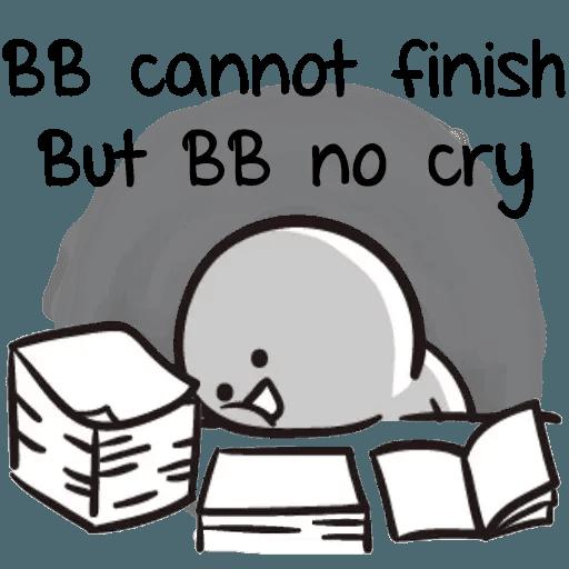 Bb never tell 2 - Sticker 11