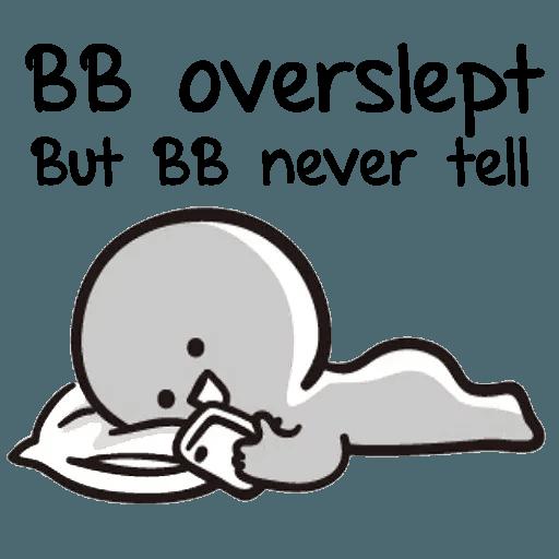 Bb never tell 2 - Sticker 3