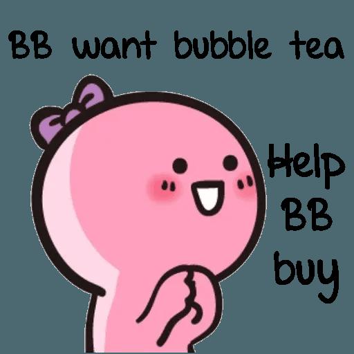 Bb never tell 2 - Sticker 16