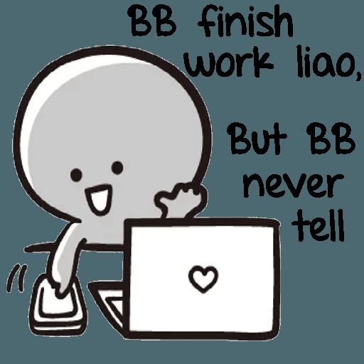 Bb never tell 2 - Sticker 12