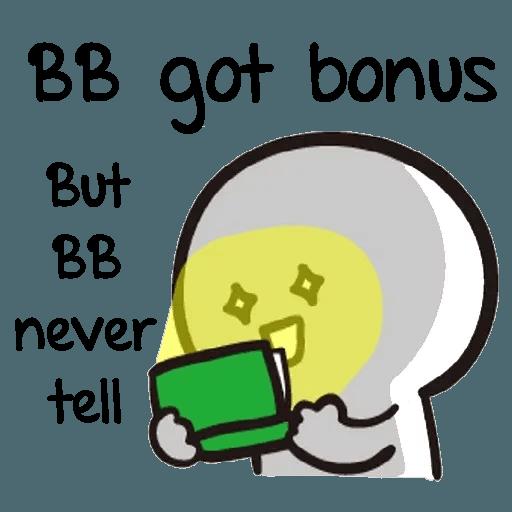 Bb never tell 2 - Sticker 26