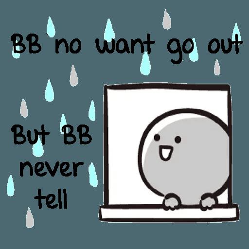 Bb never tell 2 - Sticker 4
