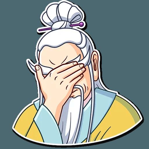 Oriental windsome - Sticker 15