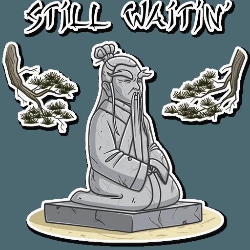 Oriental windsome - Sticker 25