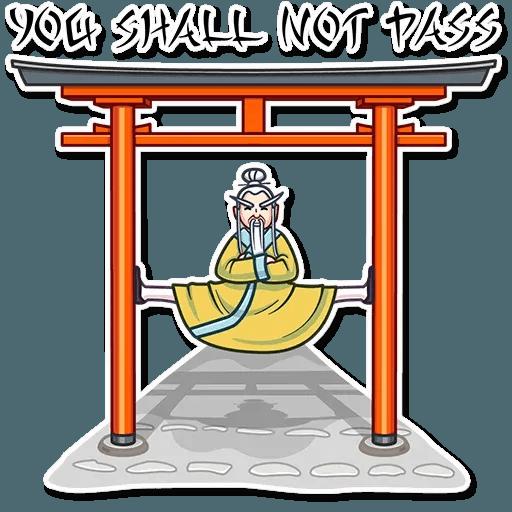 Oriental windsome - Sticker 16