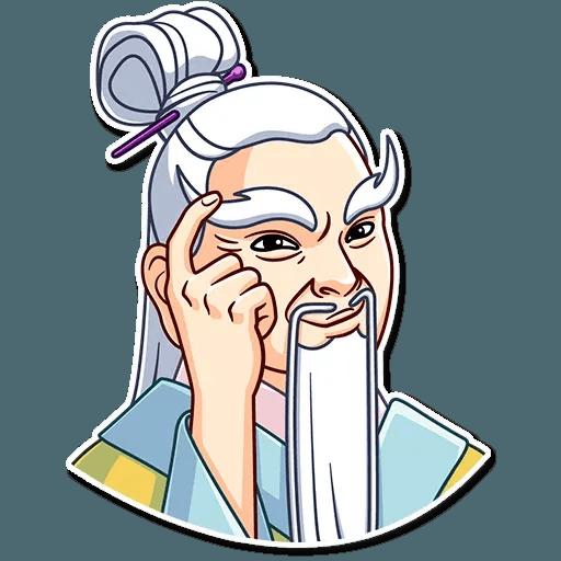 Oriental windsome - Sticker 7