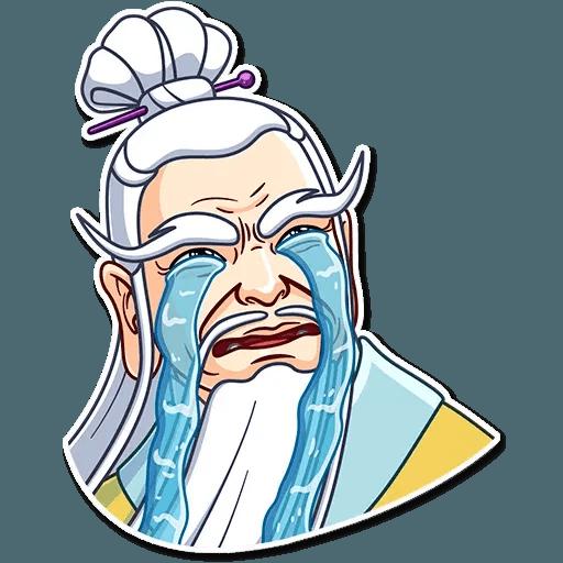 Oriental windsome - Sticker 4