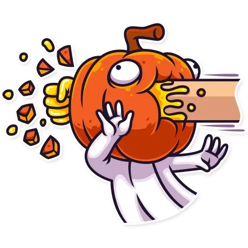 Halloween Ghost - Sticker 23