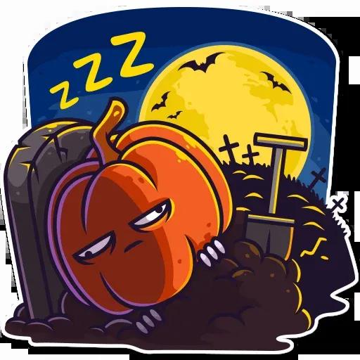 Halloween Ghost - Sticker 28