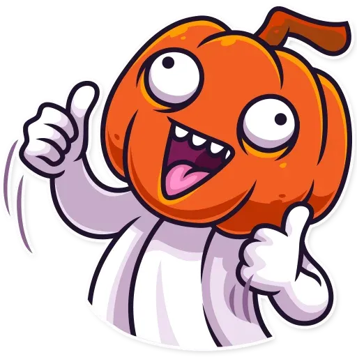 Halloween Ghost - Sticker 3