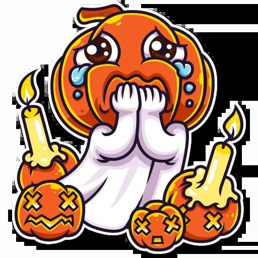 Halloween Ghost - Sticker 10