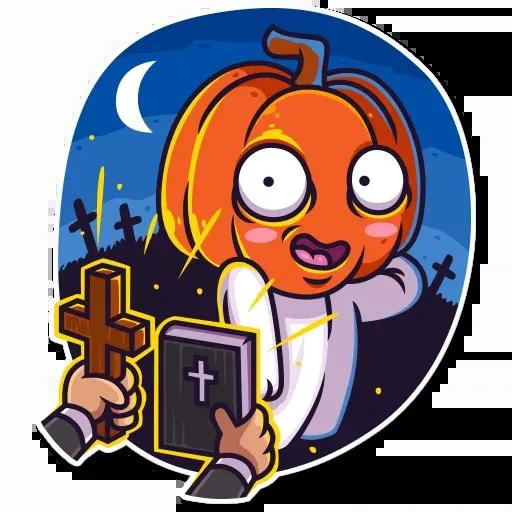 Halloween Ghost - Sticker 6