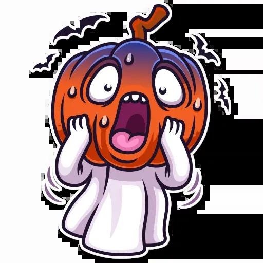 Halloween Ghost - Sticker 20