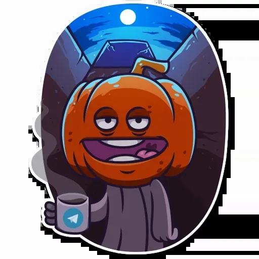 Halloween Ghost - Sticker 14