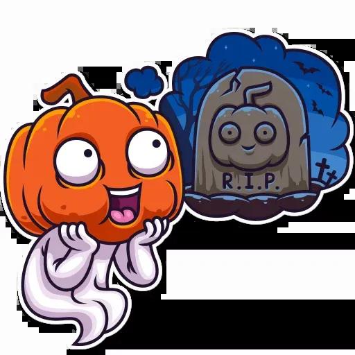 Halloween Ghost - Sticker 26