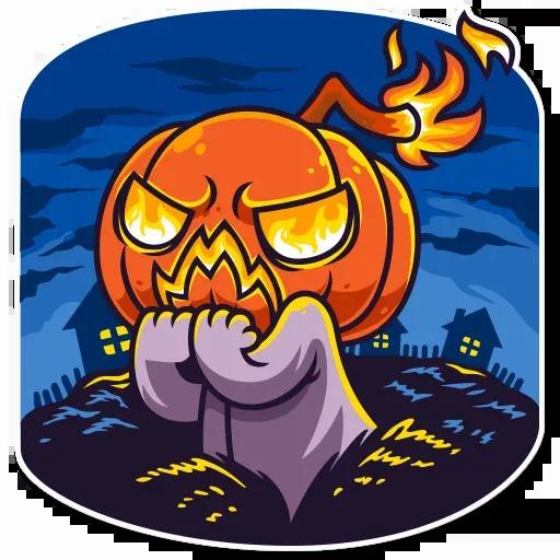 Halloween Ghost - Sticker 21