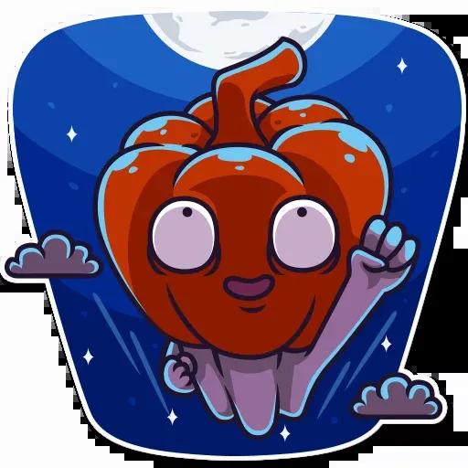 Halloween Ghost - Sticker 11