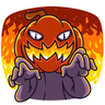 Halloween Ghost - Tray Sticker