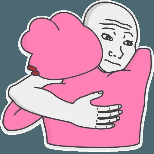 Pink Pepe 3 - Sticker 24