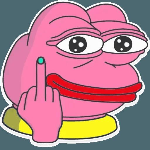 Pink Pepe 3 - Sticker 4