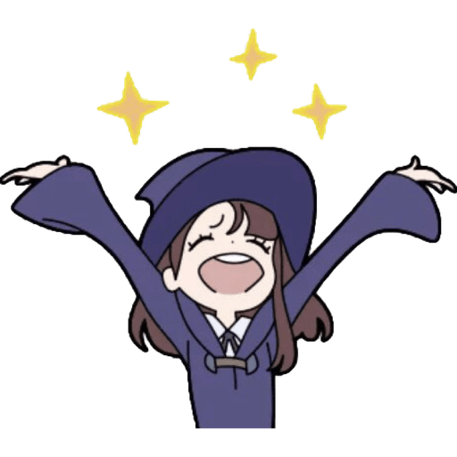 Little Witch Academia  - Sticker 4