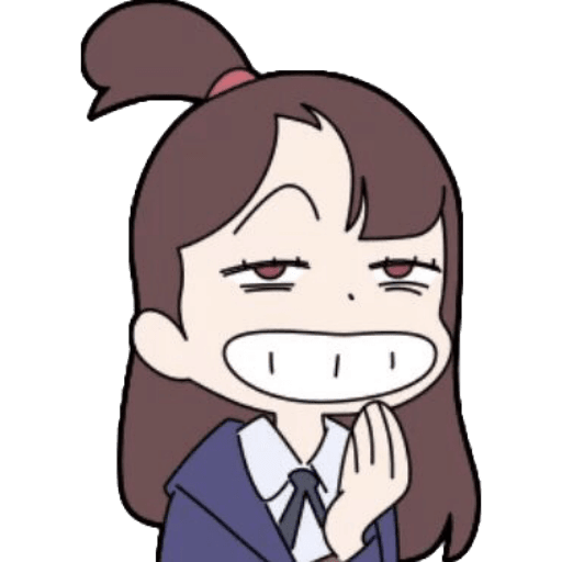 Little Witch Academia  - Sticker 11