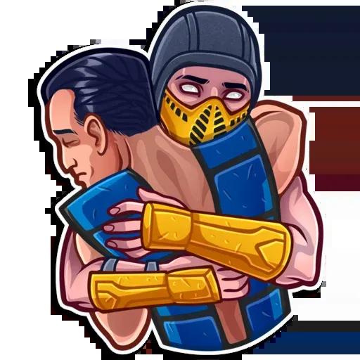 Mortal kombat - Sticker 21