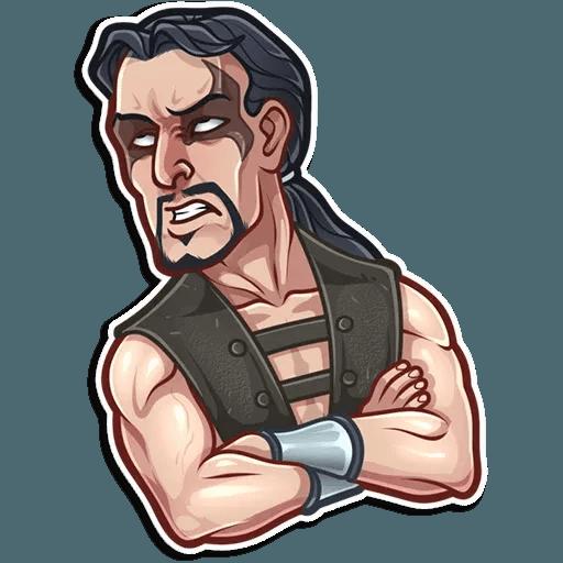 Mortal kombat - Tray Sticker