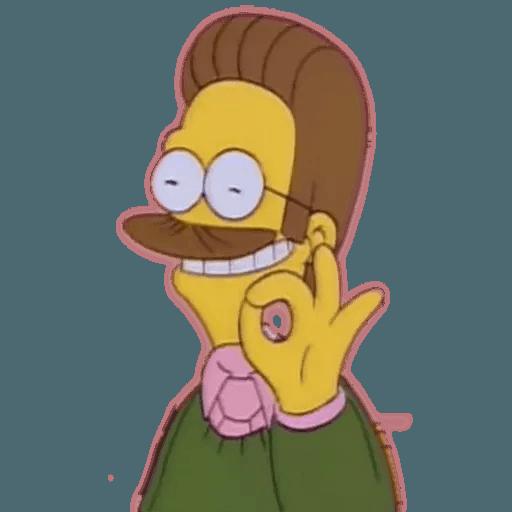 Simpsons1 - Sticker 7