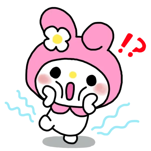 My Melody - Sticker 1