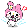 My Melody - Tray Sticker