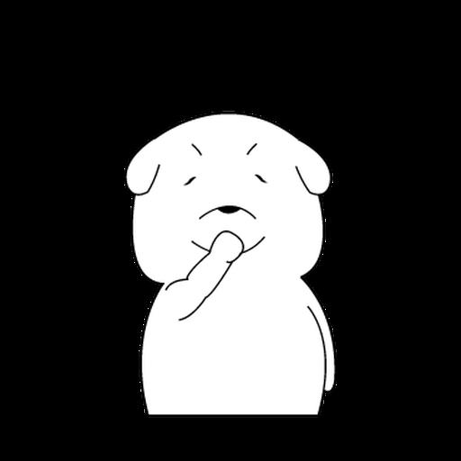 Mon Mon Dog - Sticker 7