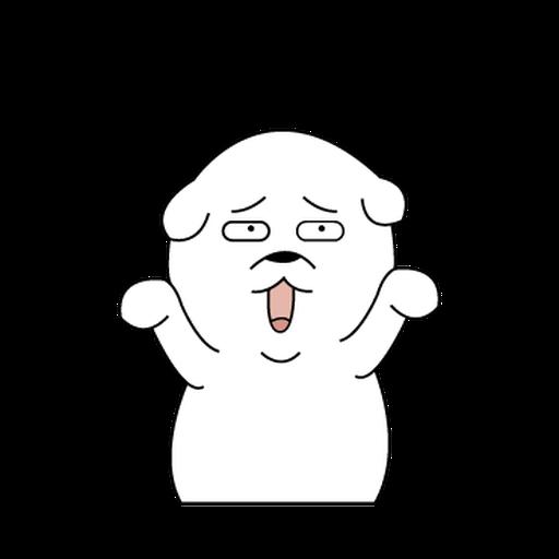 Mon Mon Dog - Sticker 18