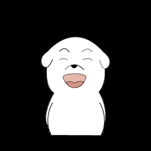 Mon Mon Dog - Sticker 2