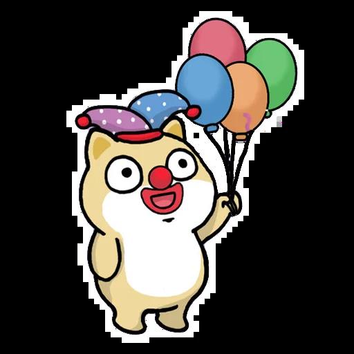 Fat shibu - Sticker 6
