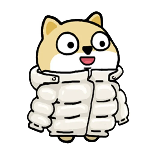 Fat shibu - Sticker 5