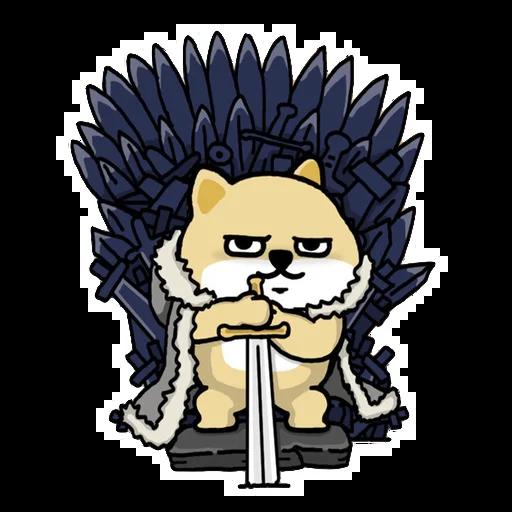 Fat shibu - Sticker 9