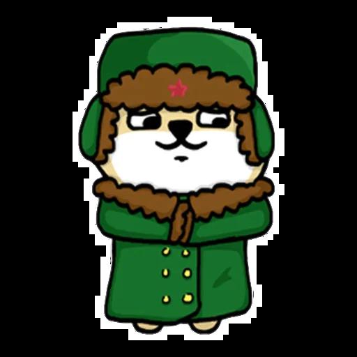 Fat shibu - Sticker 2