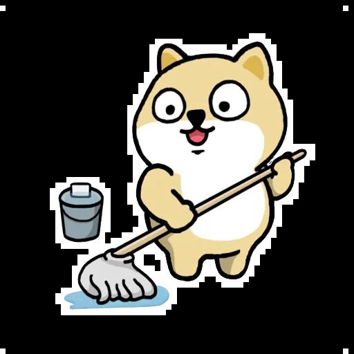 Fat shibu - Sticker 11