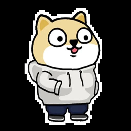Fat shibu - Sticker 3