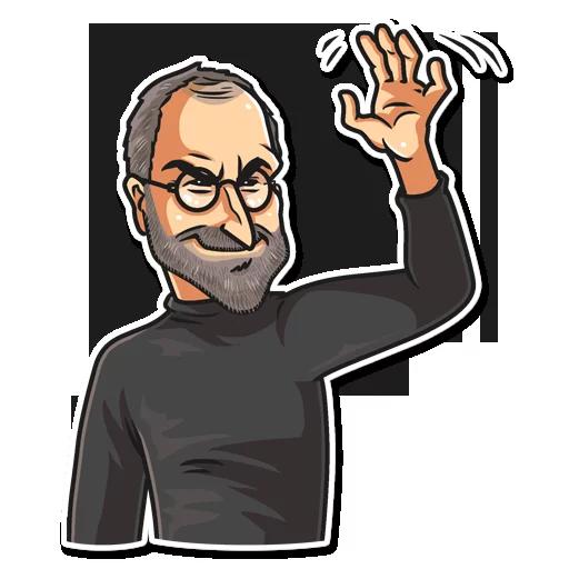 SteveJobs 💛 - Sticker 5
