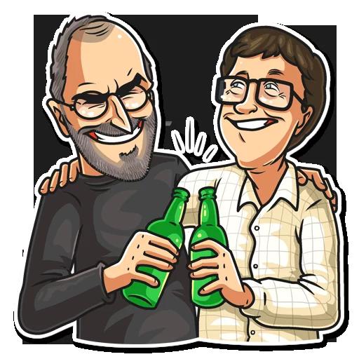 SteveJobs 💛 - Sticker 18