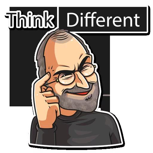 SteveJobs 💛 - Sticker 7
