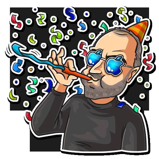 SteveJobs 💛 - Sticker 22